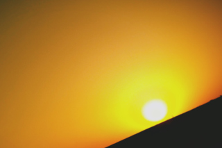 Black And Yellow Sun Picture for Android, iPhone and iPad