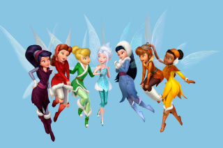 Tinkerbell and the Mysterious Winter Woods - Obrázkek zdarma pro Fullscreen Desktop 1600x1200
