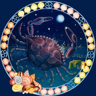 Cancer Zodiac - Obrázkek zdarma pro iPad 2