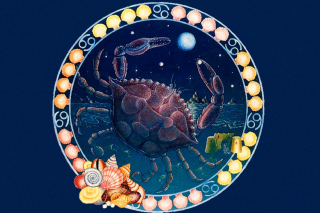 Cancer Zodiac - Obrázkek zdarma pro 480x320