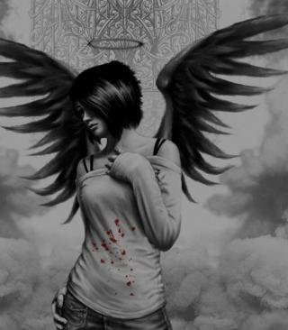 Dark Angel - Obrázkek zdarma pro Nokia C-5 5MP