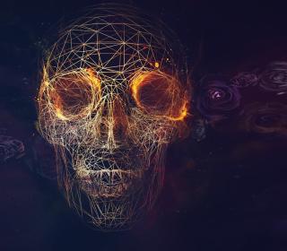 Skull - Obrázkek zdarma pro iPad Air