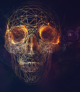 Skull - Obrázkek zdarma pro Nokia C6