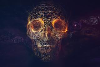 Skull - Obrázkek zdarma pro Nokia Asha 200
