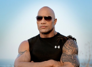 Картинка Dwayne Johnson на андроид