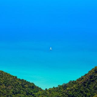 Anguilla Landscape - Obrázkek zdarma pro iPad Air