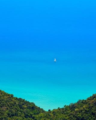 Anguilla Landscape - Obrázkek zdarma pro 352x416