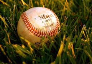 Baseball Ball Background for Android, iPhone and iPad