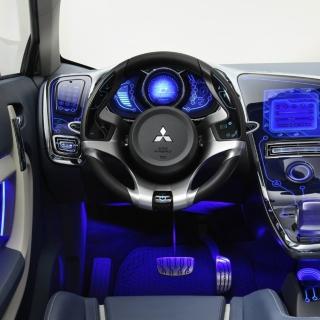 Mitsubishi Interior Tuning - Obrázkek zdarma pro iPad mini