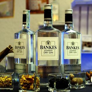 Dry Gin Bankers - Obrázkek zdarma pro 320x320
