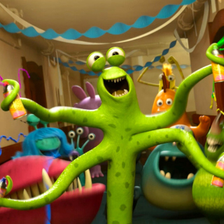 Monsters University - Obrázkek zdarma pro iPad 2