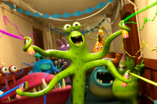 Monsters University sfondi gratuiti per Nokia Asha 302