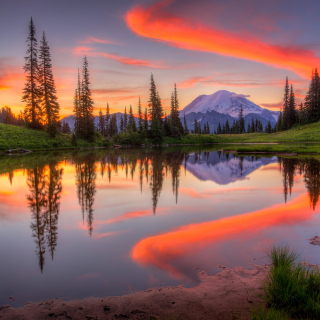 Emerald Lake, Carcross, Yukon - Obrázkek zdarma pro iPad mini 2