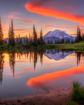 Emerald Lake, Carcross, Yukon - Obrázkek zdarma pro Nokia Asha 305