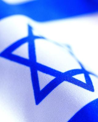 Israel Flag - Obrázkek zdarma pro 640x960