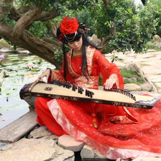 Asian Music Player - Obrázkek zdarma pro iPad Air