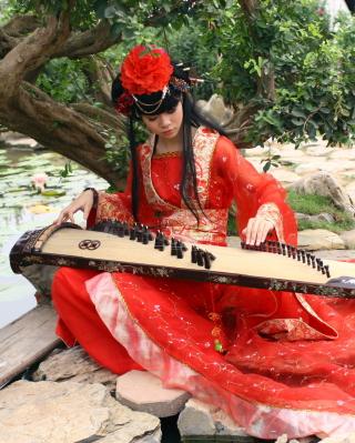 Asian Music Player - Obrázkek zdarma pro Nokia Asha 308