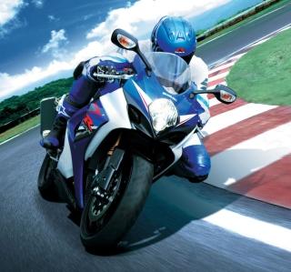 Moto GP Suzuki - Obrázkek zdarma pro iPad