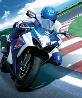 Moto GP Suzuki - Obrázkek zdarma pro 352x416