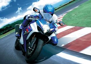 Moto GP Suzuki - Obrázkek zdarma pro Sony Tablet S