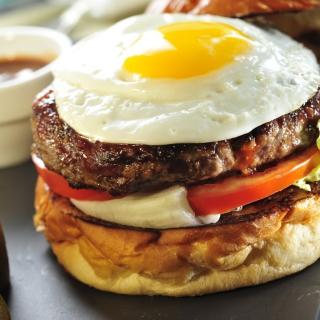 Fast Food Sandwich - Obrázkek zdarma pro 320x320
