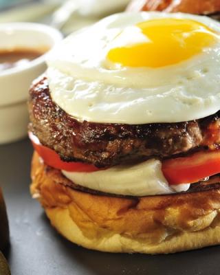 Fast Food Sandwich - Obrázkek zdarma pro Nokia Asha 308