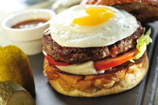 Fast Food Sandwich - Obrázkek zdarma pro Sony Tablet S