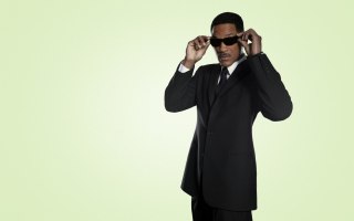 Free Man In Black Will Smith Picture for Android, iPhone and iPad