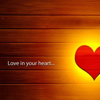 Love in your Heart - Obrázkek zdarma pro iPad 2