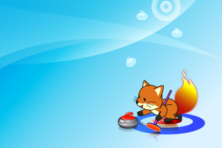 Free Firefox Curling Picture for Android, iPhone and iPad