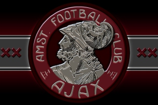 AFC Ajax Club HD Logo - Obrázkek zdarma pro Android 600x1024