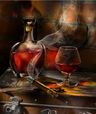 Whiskey and Cigar - Obrázkek zdarma pro Nokia 5800 XpressMusic