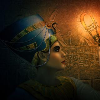 Nefertiti - Queens of Egypt - Obrázkek zdarma pro iPad