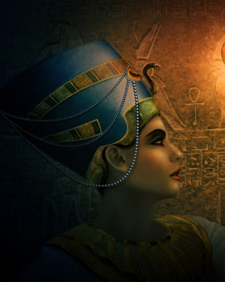 Nefertiti - Queens of Egypt - Obrázkek zdarma pro 240x400