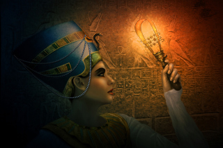 Nefertiti - Queens of Egypt Wallpaper for Android, iPhone and iPad