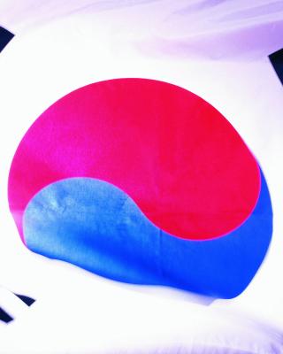 South Korea Flag - Obrázkek zdarma pro 352x416