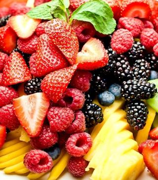 Fruit Plate - Obrázkek zdarma pro Nokia Lumia 920T