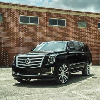 Cadillac Escalade Black - Obrázkek zdarma pro iPad Air