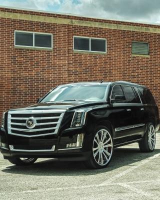 Cadillac Escalade Black - Obrázkek zdarma pro 360x400