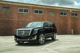 Free Cadillac Escalade Black Picture for Android, iPhone and iPad