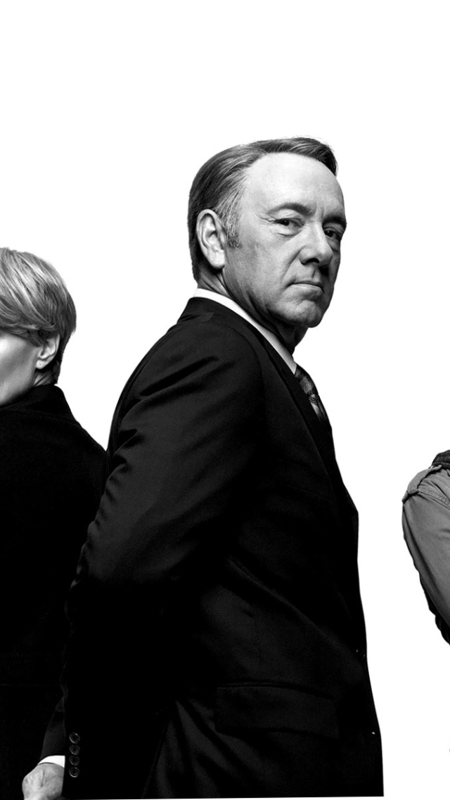 House Of Cards With Kevin Spacey Wallpaper For Iphone 5