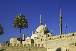 Citadel Cairo Background for Android, iPhone and iPad