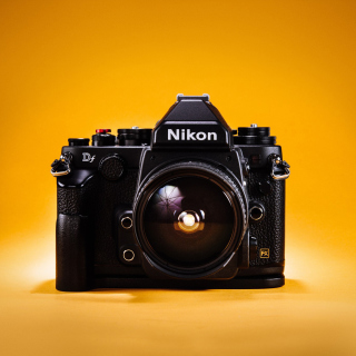 Nikon FX & DX - Obrázkek zdarma pro iPad mini