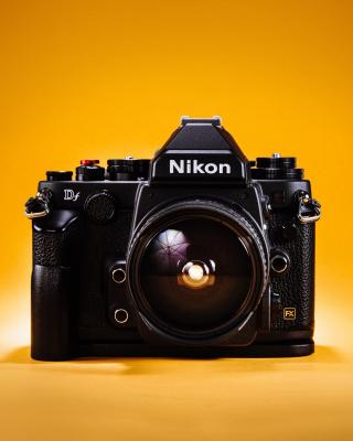 Nikon FX & DX - Obrázkek zdarma pro Nokia X2-02