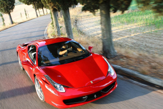 Free Ferrari 458 Italia Clearness Picture for Android, iPhone and iPad