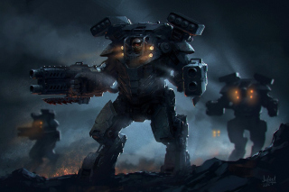 MechWarrior Online Game Background for Android, iPhone and iPad