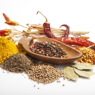 Spices and black pepper - Obrázkek zdarma pro iPad Air