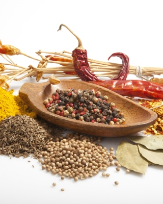 Spices and black pepper - Fondos de pantalla gratis para Nokia C2-01