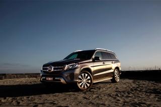 Mercedes Benz GLS - Obrázkek zdarma pro Motorola DROID 2