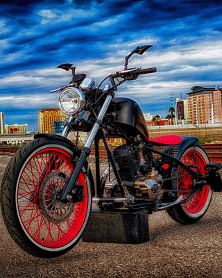 Cleveland CycleWerks Bike - Obrázkek zdarma pro Nokia C1-01